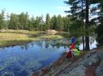 Amy's Park pond