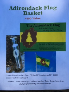 Adirondack Flag basket