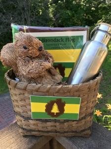 Adirondack Flag basket