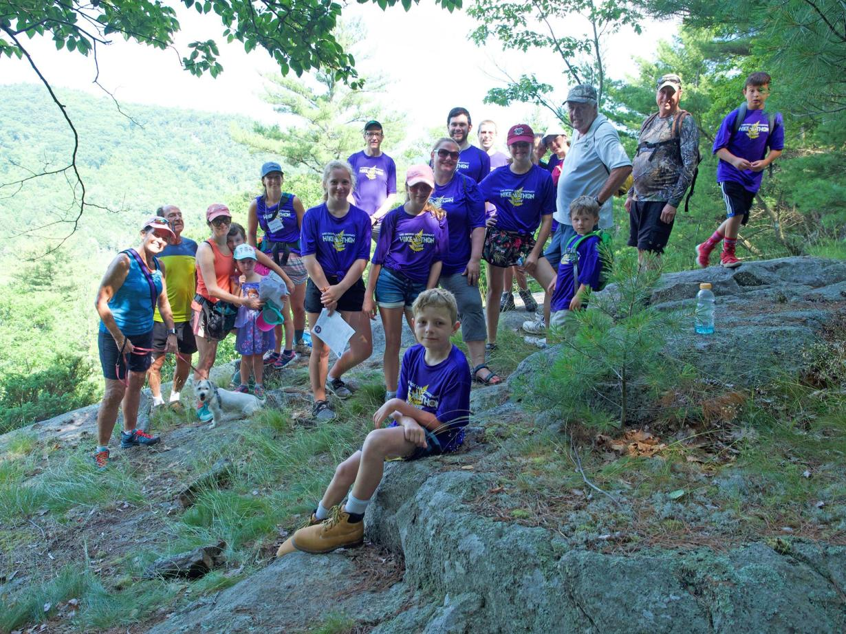 Hikers from 2018 Hike-A-Thon
